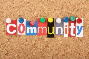 community bulleting board