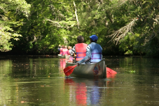 canoeing pine barrens