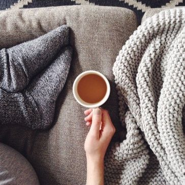 couch with coffee